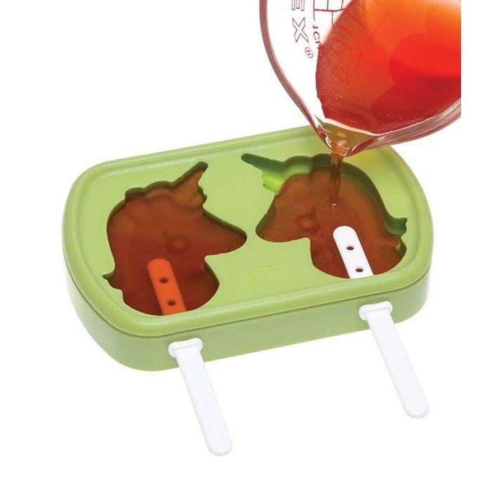 Assorted Color Joie Unicorn Freeze Pops 2 Pack