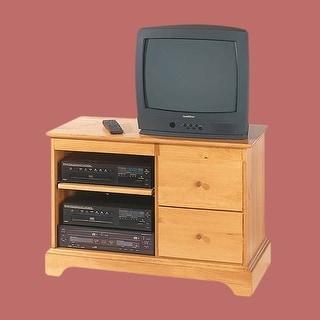 Entertainment Console Heirloom Pine Kit 25H