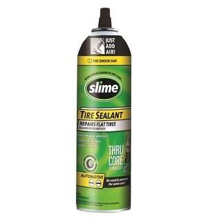 Slime 60174 Thru-Core Tire Sealants, 16 Oz
