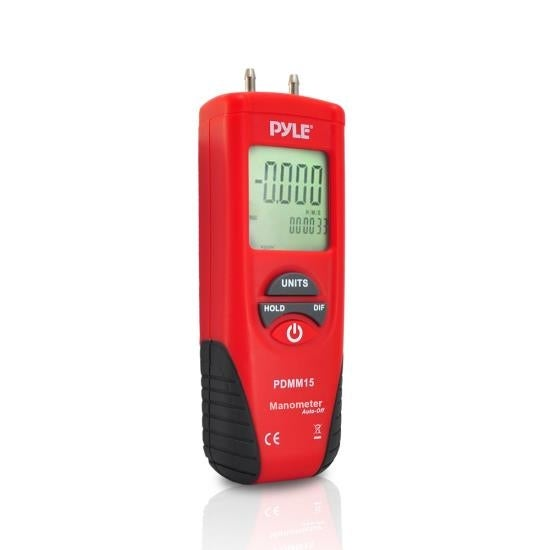 Digital Manometer, Differential Pressure Meter