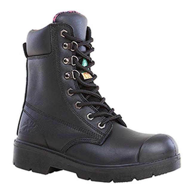cd39eb362dd Moxie Trades Women's Anne Steel Toe Work Boot Black Leather