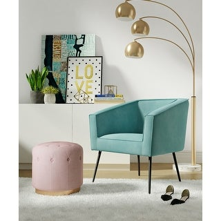 Link to Carson Carrington Lagga Velvet Accent Chair Similar Items in Living Room Chairs