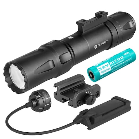 Olight Odin 2000 Lumen Rechargeable Quick Release Rail Mount Flashlight