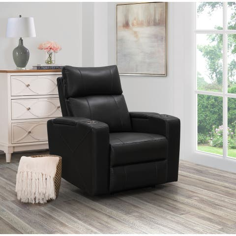 Carter Power Theatre Recliner, Black