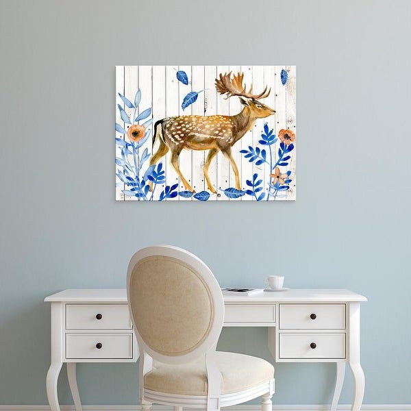 Easy Art Prints Melissa Wang's 'Dear Deer I' Premium Canvas Art