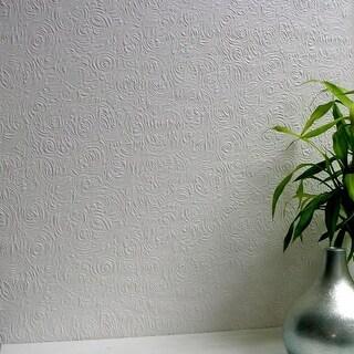 Brewster 437-RD80101 Swirl Paintable Anaglypta Pro Wallpaper