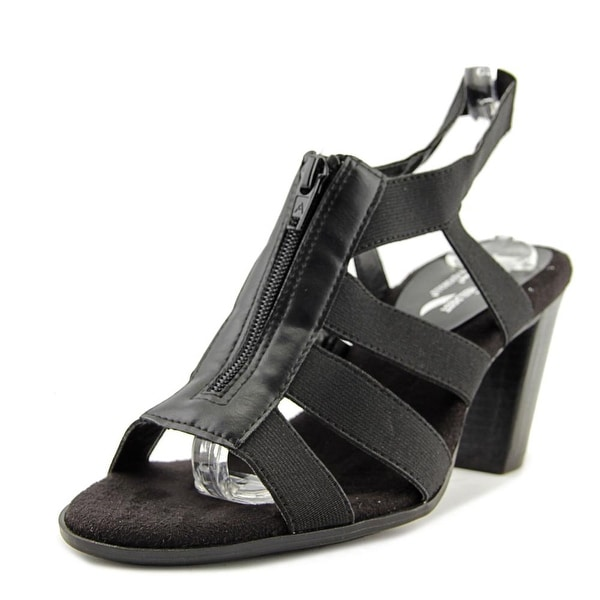 A2 By Aerosoles Grand Canyon Women Black Sandals