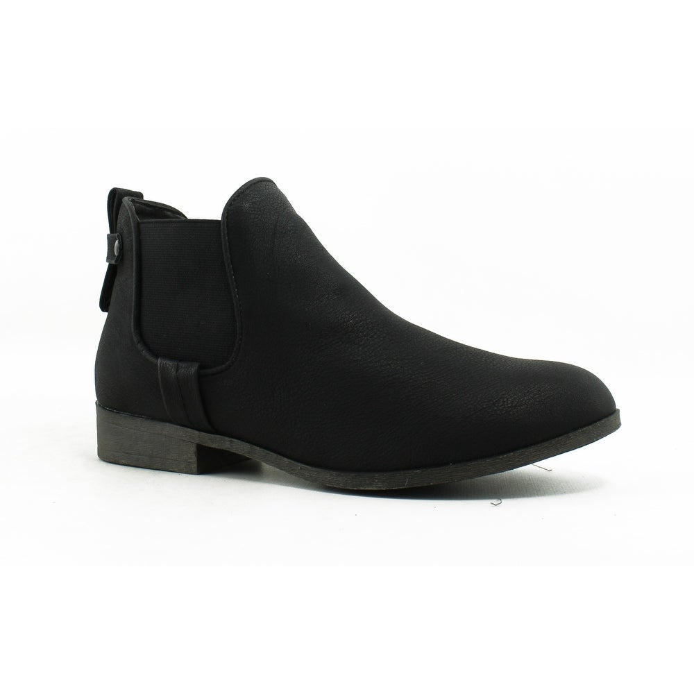 New Fashion Madden Girl Barbiee Women Booties 6 M, Black Boots