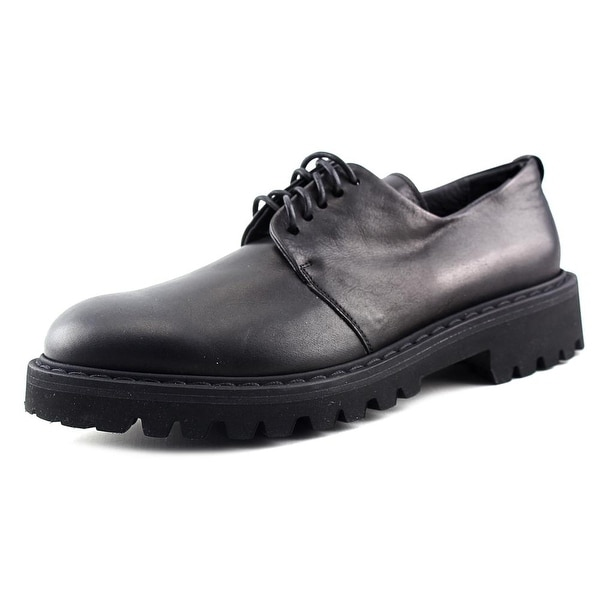 BB Washed by Bruno Bordese W1524 Women Nero Oxfords