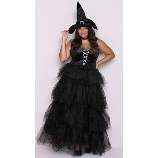 Plus Size Spellbound Witch Costume, Plus Size Witch Costume