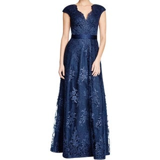 Aidan Mattox Womens Formal Dress Lace Full-Length