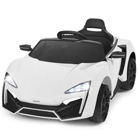 Costway 12V Kids Ride On Car 2.4G RC Electric Vehicle w/ Lights MP3 - See Description