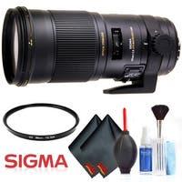 Sigma 180mm f/2.8 APO Macro EX DG OS HSM Lens (for Nikon) International Version  Base Accessory Kit