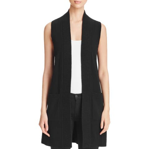 Private Label Womens Sweater Vest Cashmere Long
