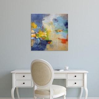 Easy Art Prints Lina Alattar's 'Restless Mind' Premium Canvas Art