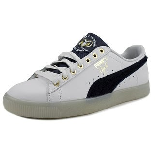 Puma Clyde Lthr BHM   Round Toe Leather  Sneakers