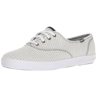 Keds Womens Champion Fabric Low Top Lace Up Fashion Sneakers