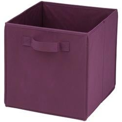 Purple -Folding Storage Cube