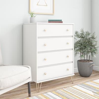 Novogratz Finley 4 Drawer Dresser