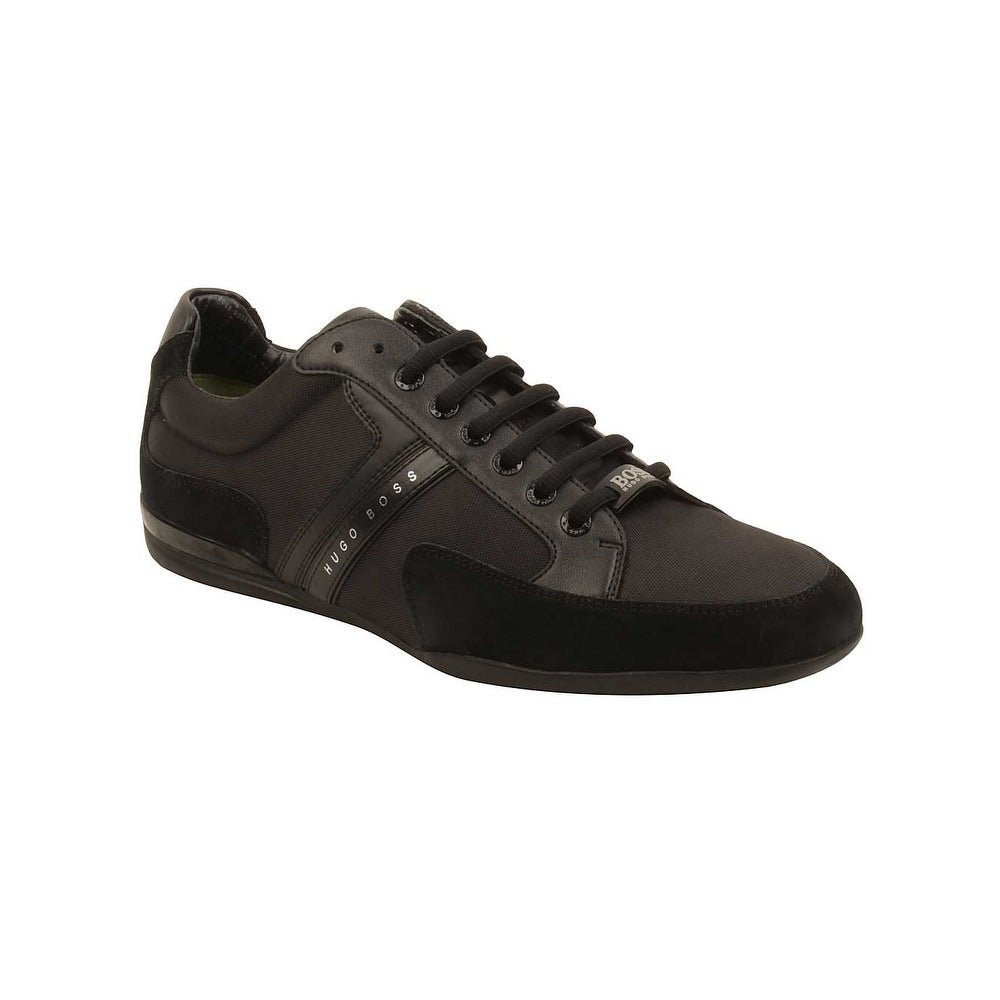 Hugo Boss Mens Spacit Sneakers in Black