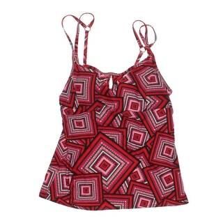 Lole Womens Maya Printed Push-Up Swim Top Separates - S