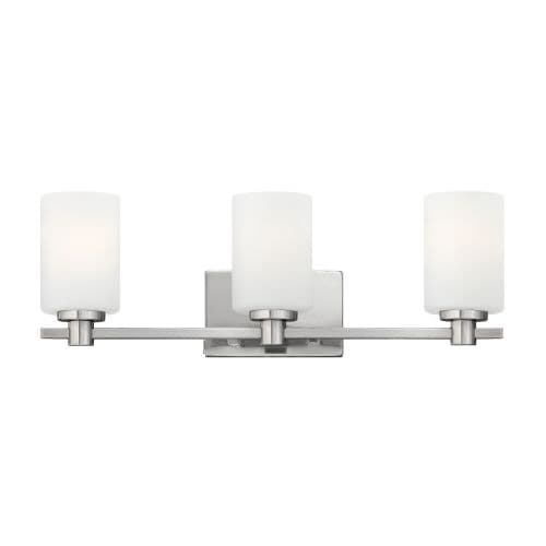 Hinkley Lighting 54623 3 Light Bathroom Fixture from the Karlie Collection