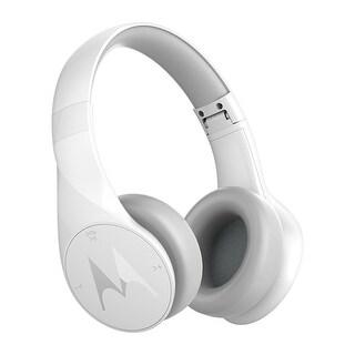 Motorola Pulse Escape Wireless Over-Ear Headphones - White