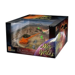 """War of the Worlds"" War Machines Attack Diorama, Pre-Built - multi"