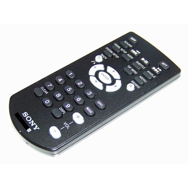 OEM Sony Remote Control Originally Shipped With: MEXDV1700, MEX-DV1700, MEXDV1700U, MEX-DV1700U, MEXDV900, MEX-DV900