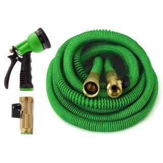 ALL NEW 2017 Expandable Garden Hose Set 4 Sizes