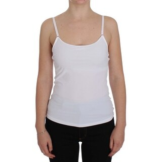 Dolce & Gabbana White Camisole Tank Top - it3-m