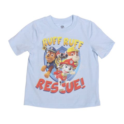 Paw Patrol Ruff Ruff Rescue Toddlers Short Sleeve
