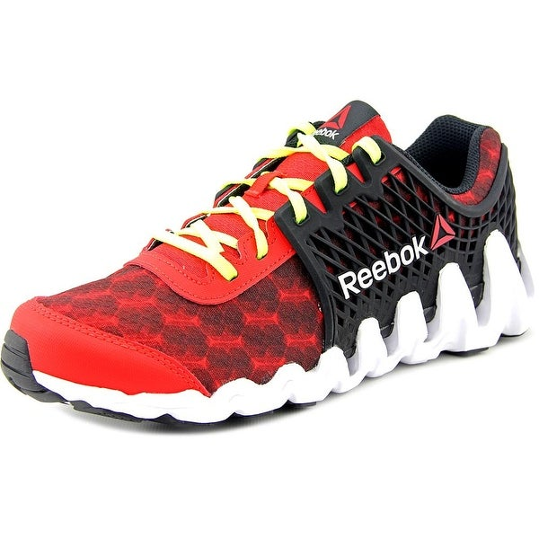 Reebok Zigtech Big N Fast EX Round Toe Synthetic Running Shoe