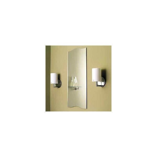 "Ginger 241 16"" x 36"" Frameless Mirror from the Sine Collection - n/a - N/A"
