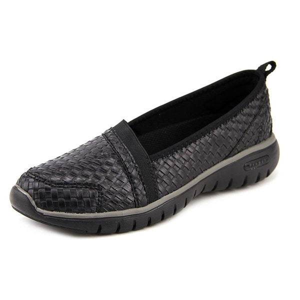 Propet Travellite Slip-On Woven Women W Round Toe Synthetic Loafer