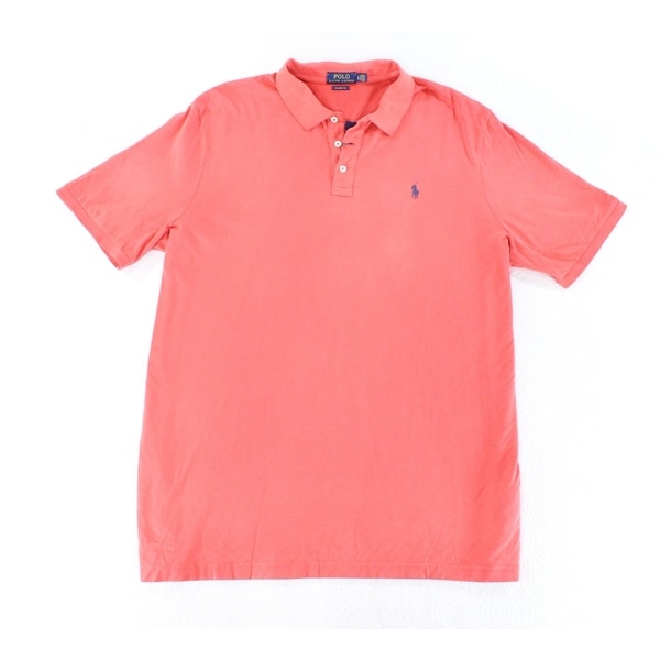 618c02842 Shop Polo Ralph Lauren Cabana Red Men Size Large L Classic Fit Polo Shirt -  Free Shipping Today - Overstock - 22123315