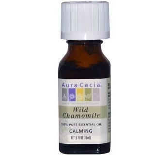Aura Cacia Essential Oil Chamomile 0.5-ounce