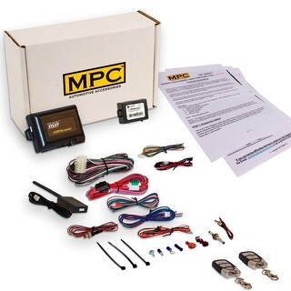 Complete Remote Start Kit With Keyless Entry For 2001-2005 Honda Civic - Includes (2) 4 Button Remotes