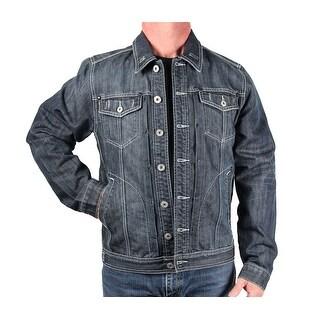 Five Elementz Men's Denim Trucker Jacket