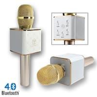 Indigi® MQ7 Wireless Karaoke Bluetooth 4.0 Microphone + Speakers for iPhone & Androi
