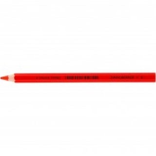 American Educational X-Big Jumbo Colored Pencil, Vermillion -