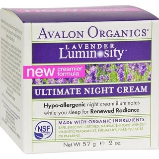 Avalon Organics - Lavender Luminosity Ultimate Night Cream ( 1 - 2 OZ)