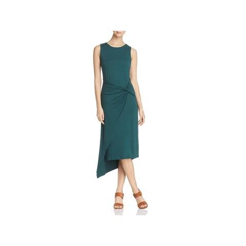 Vince Camuto Womens Maxi Dress Asymmetric Sleeveless
