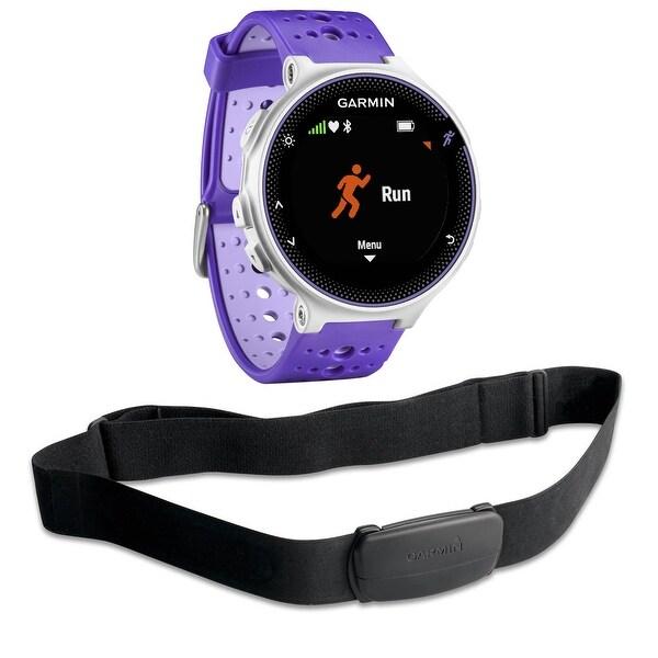 Shop Garmin Forerunner 230 Gps Running Watch With Hrm Bundle Purple