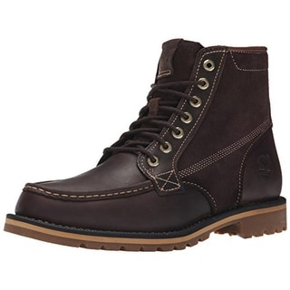 """Timberland Mens Grantly 6"""" Leather Moc Toe Ankle Boots - 7.5 medium (d)"""