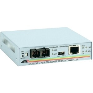 """Allied Telesis AT-MC102XL-90 Allied Telesis AT-MC102XL-90 Fast Ethernet Media Converter - 1 x RJ-45 , 1 x SC Duplex -"