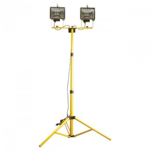 Woods L13TV Work Light with Telescoping Tri Pod Stand, 1000 Watt
