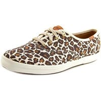 Keds Champion Animal Women Tan Multi Sneakers Shoes