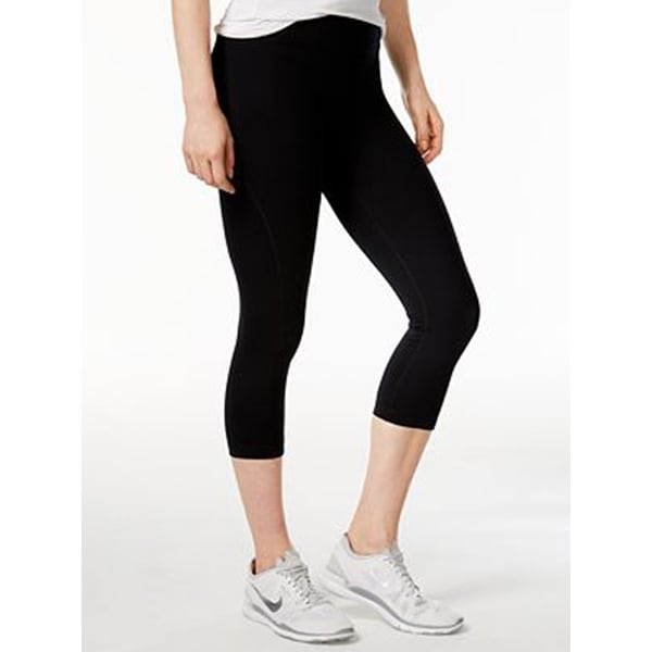 bdca834e12d795 Shop Tommy Hilfiger Sports Cropped Leggings Black - S - Free Shipping On  Orders Over $45 - Overstock - 20863943
