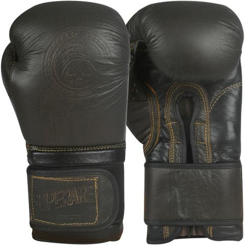Superare OG Hook and Loop Training Boxing Gloves - Brown
